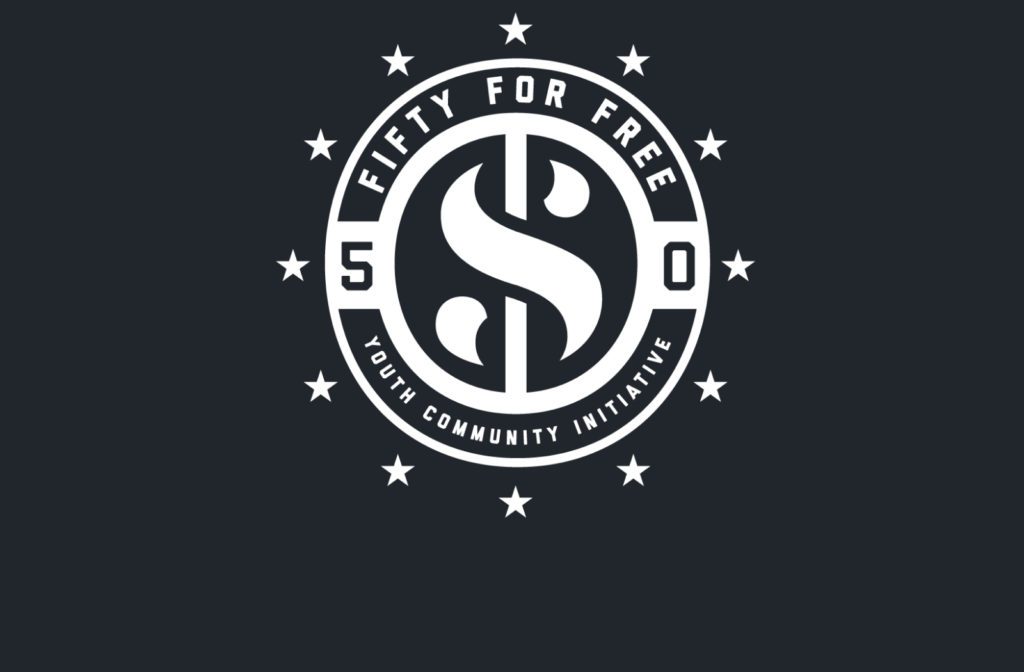 Fifty for Free Youth Initiative logo